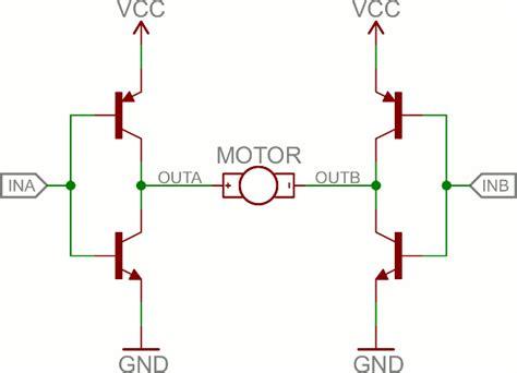 resistors in h bridge transistors learn sparkfun