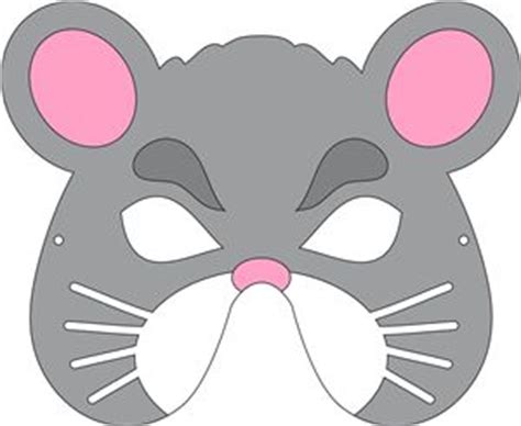printable mask mouse view design mouse mask drama club pinterest mouse