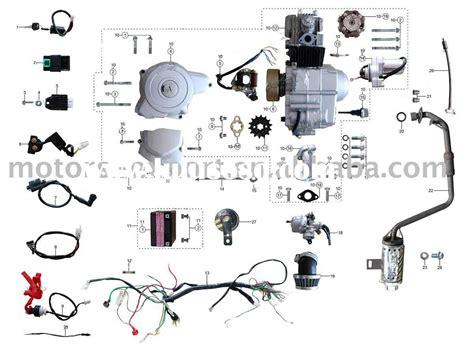Four Wheeler Engine Diagram