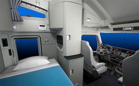 Sleeper Cab by Image Gallery Luxury Semi Truck Sleepers