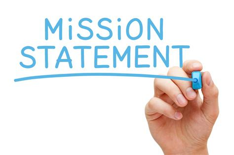 establishing a mission statement for your restaurant the
