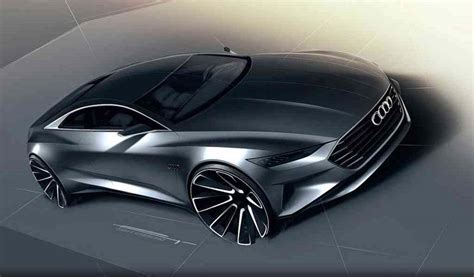 Door Grill Design by Audi A9 Renderings Reveal New Grand Touring Coupe Audi A9