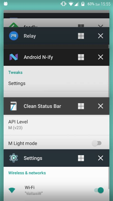 recent apps android n ify brings more android n features to lollipop and marshmallow devices android authority
