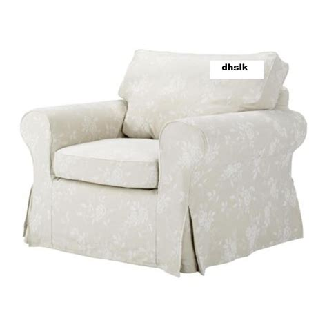 Slipcovers For Armchairs by Ektorp Armchair Cover Redeby Beige Slipcover Floral Bezug