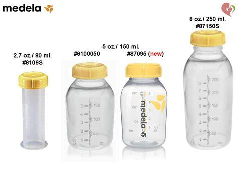 medela breast milk storage collection bottle 3 oz 80 ml 5