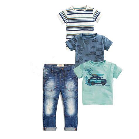 Set Denim Kid cheap summer fashion children s clothing sets baby boy
