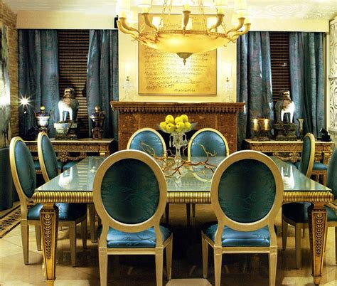Gold Dining Room Blue Dining Rooms 18 Exquisite Inspirations Design Tips