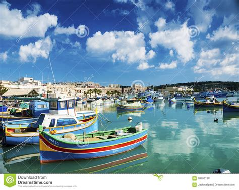 boat dealers malta marsaxlokk harbour and traditional mediterranean fishing