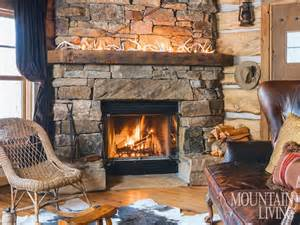 fireplace fireplaces mantels wood beams