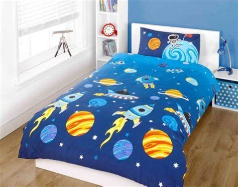 kids blue solar system bedding the land of nod 57 best images about space theme boys room on pinterest