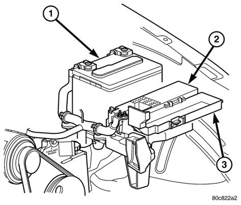 2004 Jeep Liberty Battery Photo Of A 2003 Jeep Liberty Location In The Relay Photo
