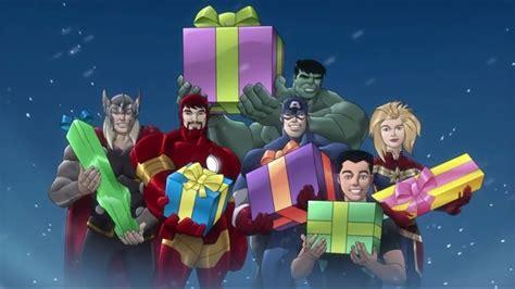 christmas avengers merry christmas happy holidays youtube