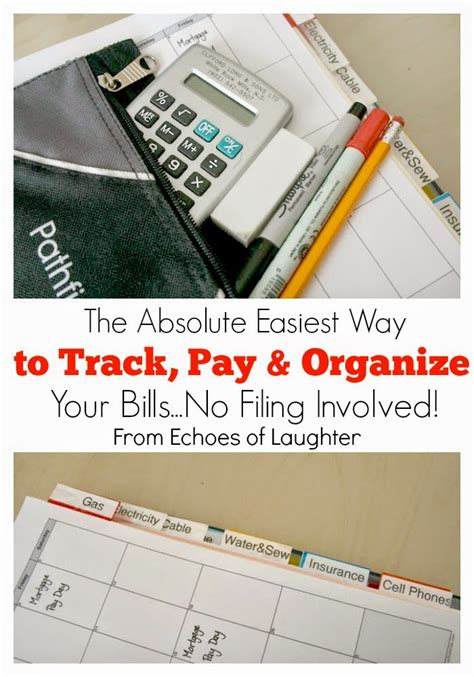 organize bills the absolute easiest way to track pay organize your