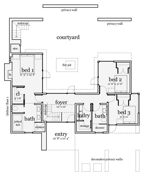 the plan collection modern house plans contemporary house plan 116 1084 3 bedrm 1923 sq ft
