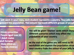 ks jelly bean population game teaching resources
