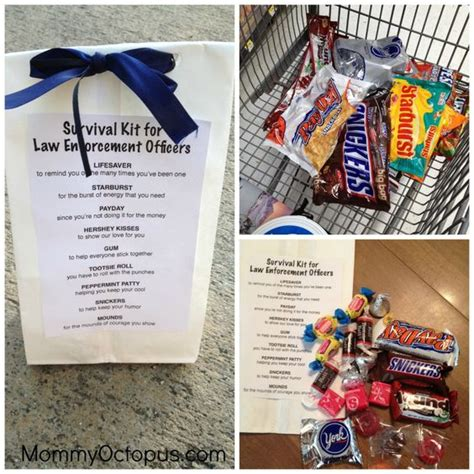 Officer Appreciation Day by Officer Appreciation Week Goodie Bags