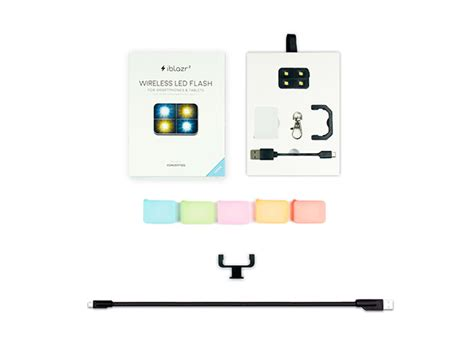 Iblazr Led Flash For All Smartphones Tablet Ios And Android mactrast deals complete iblazr smartphone led flash