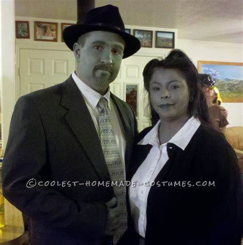 themes in the film pleasantville black and white couple costume inspired by pleasantville