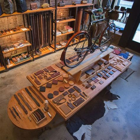 shop tanner goods portland oregon leather workshop