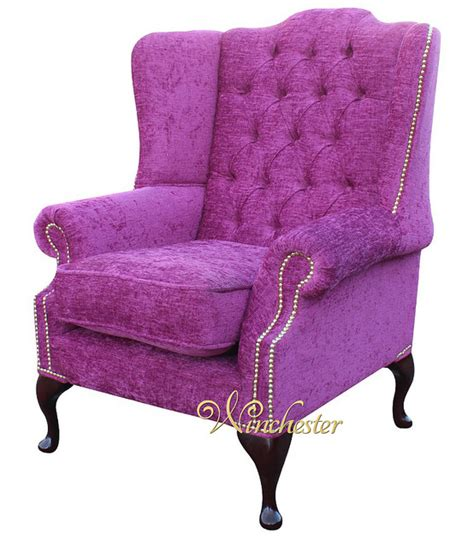 traditional fabric high back sofas chesterfield mallory high back fabric wing chair carlton