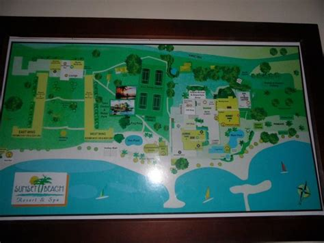 sunset resort jamaica map map of the hotel grounds picture of sunset resort