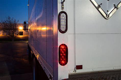 led box truck lights oval led back up truck and trailer light 6 led