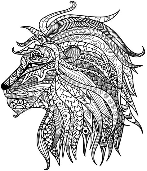 thanksgiving coloring pages advanced this detailed lion is part of our collection of adult