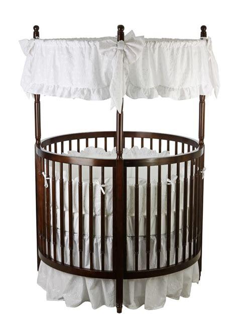 on me baby crib on me on me posh circular crib espresso baby baby furniture cribs