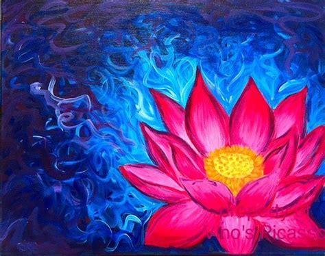 best 25 lotus painting ideas on flower design