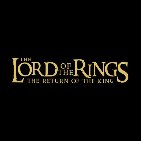 The Lord the lord of the rings logos