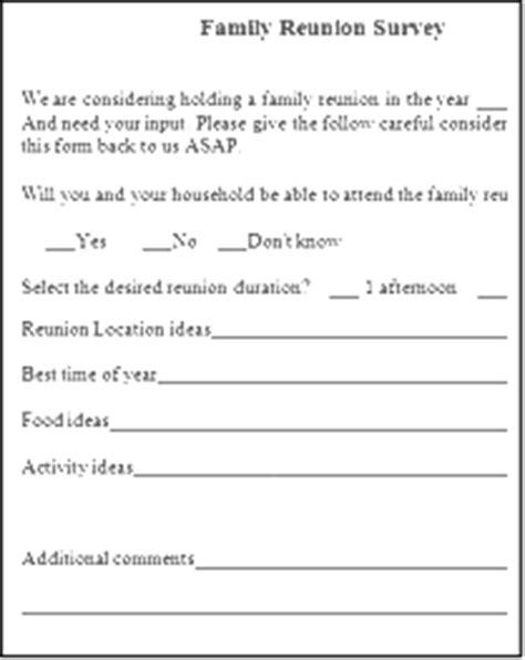 family reunion letter samples