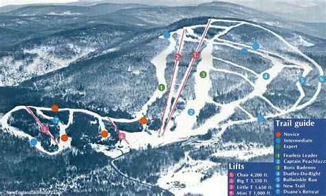 maine ski resorts map 1971 72 mt abram trail map new england ski map database