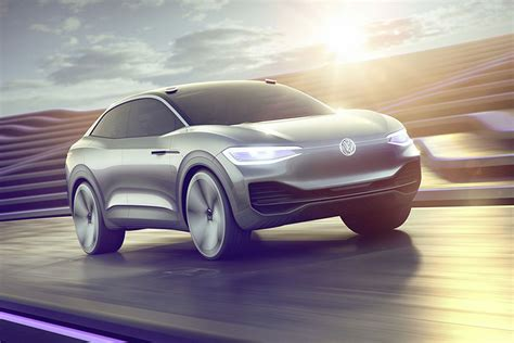 volkswagen concept 2017 volkswagen s i d crozz is a sharp electric concept with a