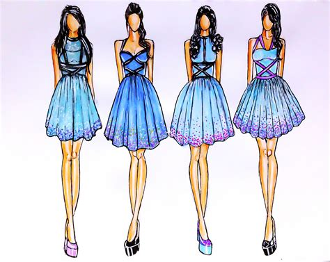 fashion design patterns how to draw fashion designs mojomade