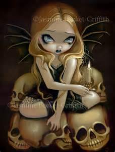 candle dark strangeling art jasmine becket griffith