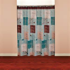 butterfly blessings shower curtain walmart