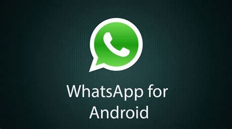 whatsapp android whatsapp 2 12 448 available for android devices neurogadget