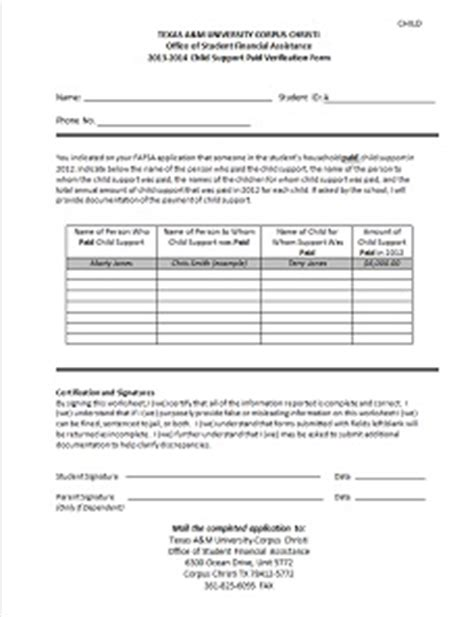 Employment Verification Letter Hhsc Child Care Expense Verification Form