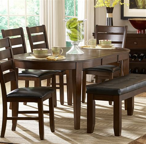 dining room tables dallas tx homelegance ameillia dark oak oval dining table dallas tx