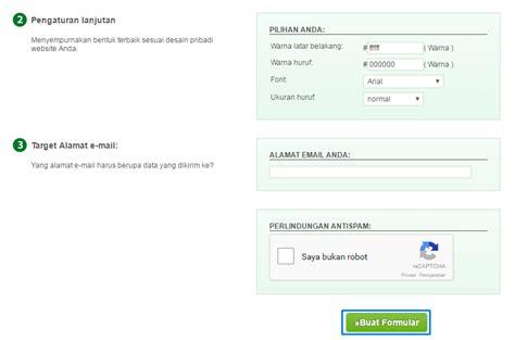 cara membuat form contact us html cara membuat contact form contact us di blog dengan