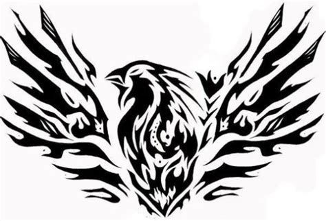 black and white phoenix tattoo designs black and white design tattooshunt