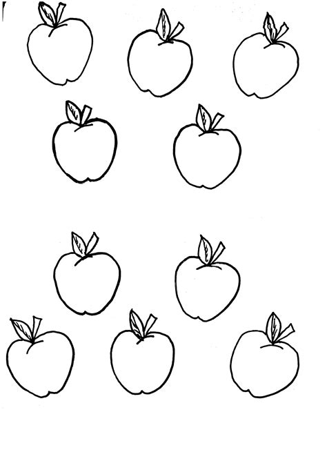Apple Template Printable Kids Coloring Europe Travel Guides Com Free Printable Pictures