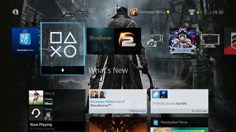 ps1 themed ps4 check out bloodborne s new ps4 theme and 28 nba dynamic