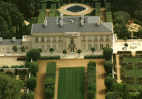 beverly hillbillies mansion aerial view around 2005