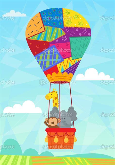 imagenes infantiles globos globos aerostaticos ilustraciones buscar con google