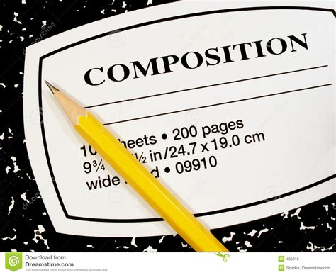 house and notebook royalty free stock photos image 25910908 composition book and pencil stock photo image of write