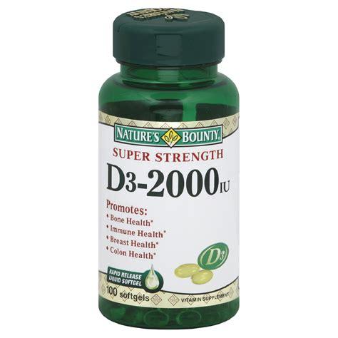 Natures Way High Strength Vitamin D3 1000iu 150 Caps bounty upc barcode upcitemdb