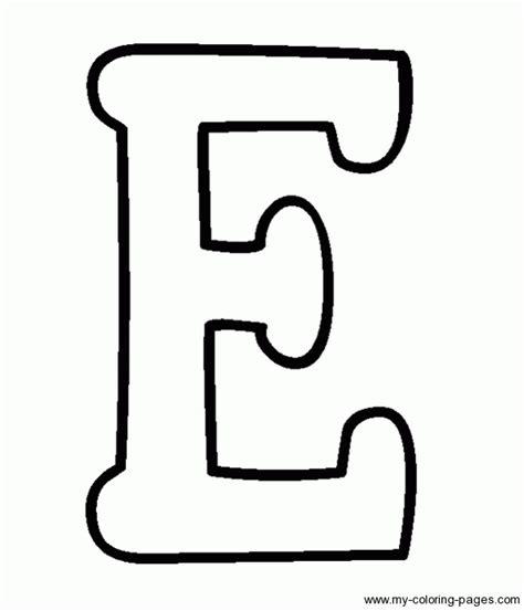 Letter E Clipart Black And White Clipartxtras