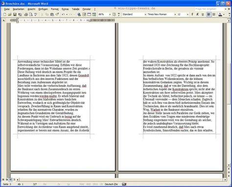 Word Vorlage Faltkarte Din A6 Word Mehrseitige Hefte Mit Mittelheftung Und Faltung Drucken Xp Tipps Workshops Xp Tipps