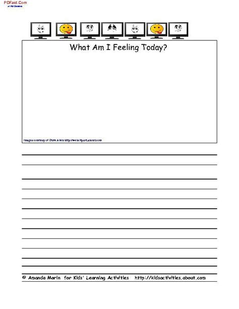 Ways To Keep A Feelings Journal Decision Journal Template